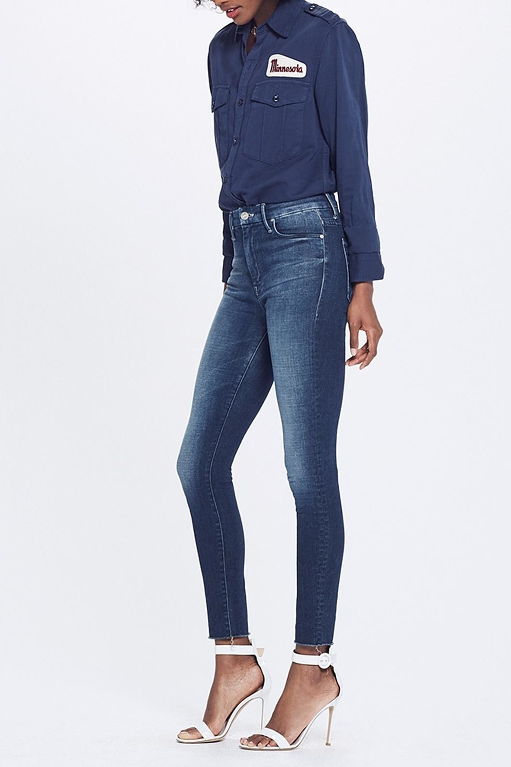 Mother High Waist Jean - Front Full Image