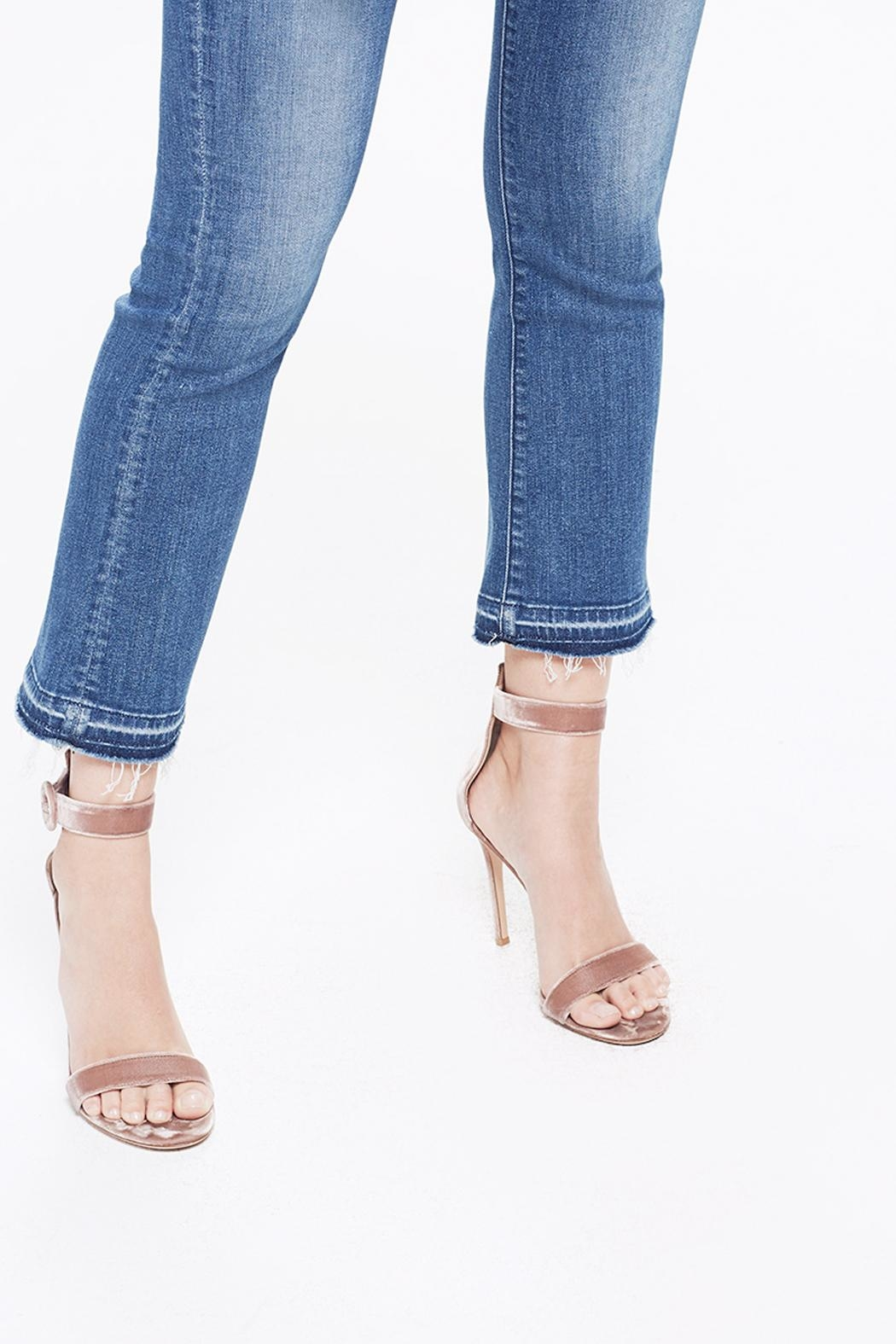 Mother Insider Cropped Jeans - Back Cropped Image