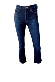 Mother Insider Crop Jeans - Front full body