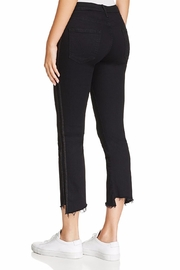 Mother Insider Crop Racer Jeans - Front full body