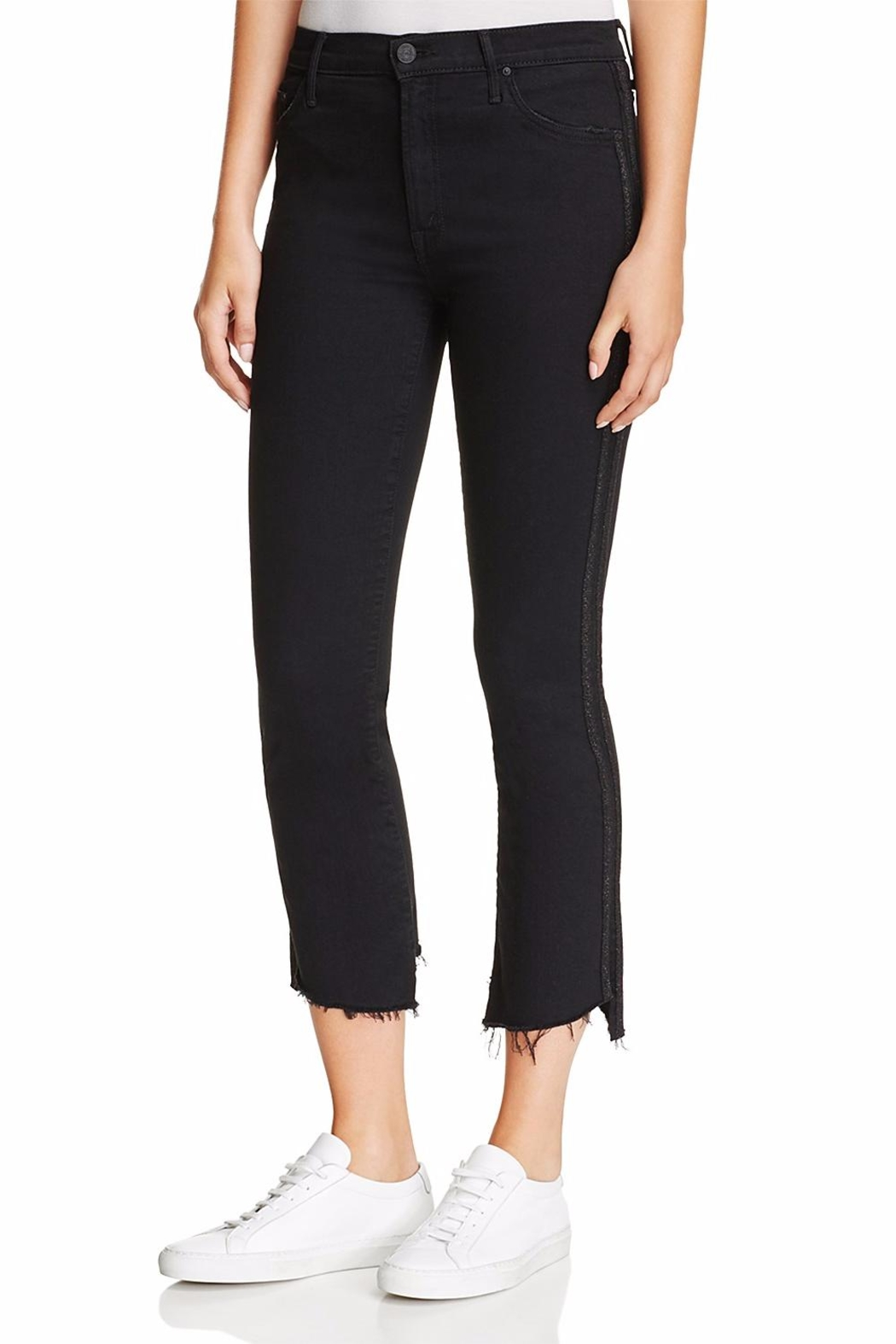 Mother Insider Crop Racer Jeans - Main Image
