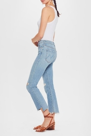 Mother Insider Crop Step-Fray - Front full body