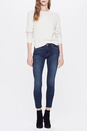 Mother Looker Ankle Fray Jean - Product Mini Image