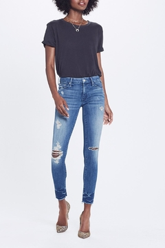 Mother Looker Ankle Fray Jeans - Product List Image
