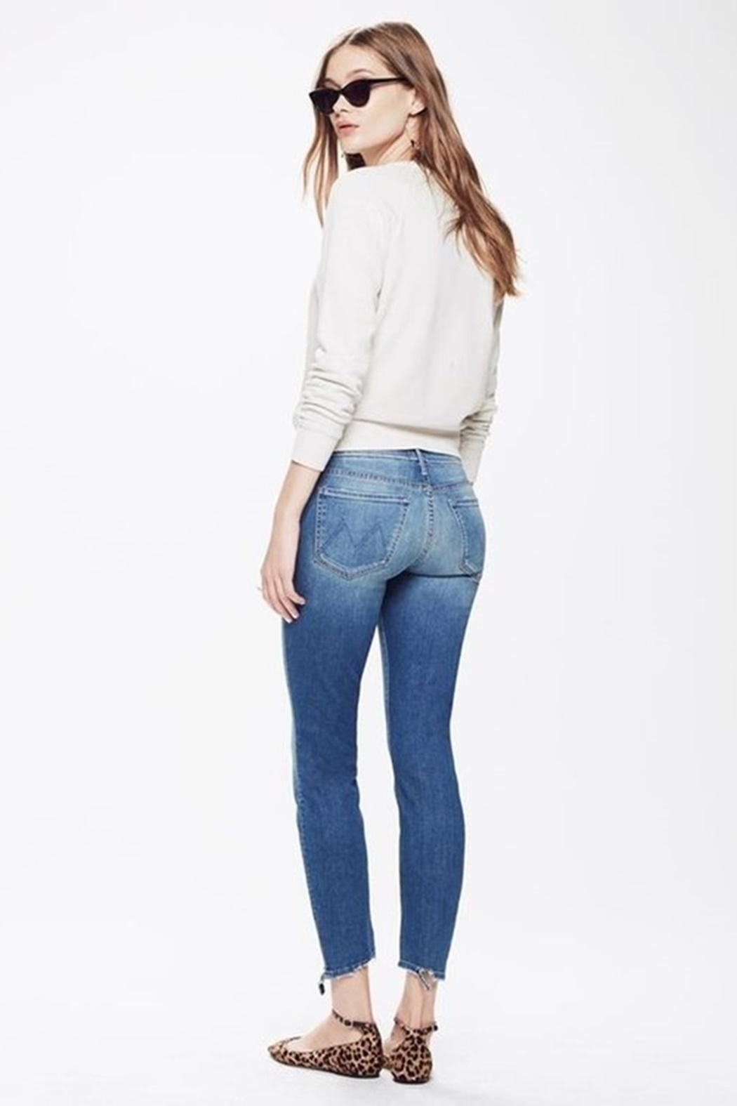 Mother Looker Skinny Jean - Side Cropped Image