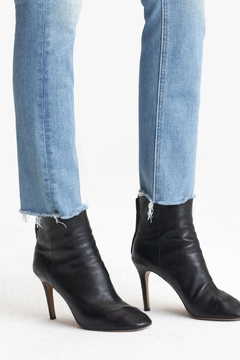 Mother Mid Rise Dazzle Ankle Fray - Alternate List Image