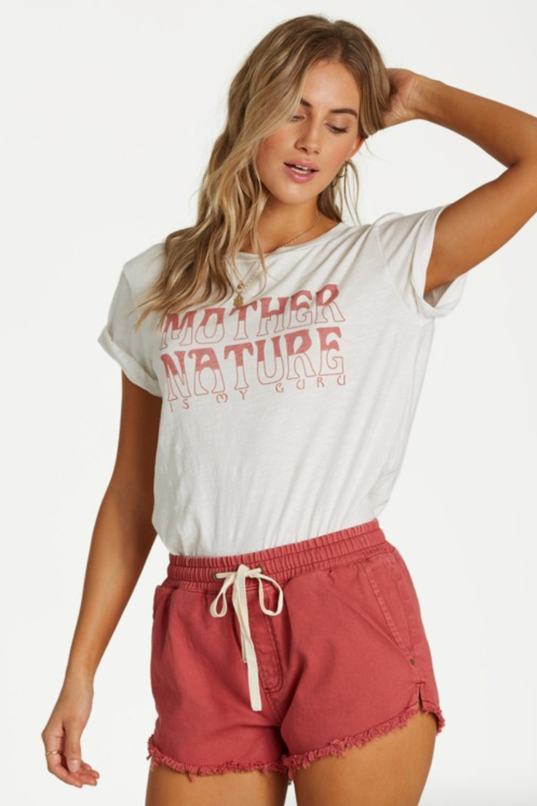 Billabong Mother Nature Tee - Side Cropped Image
