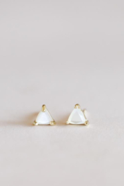 JaxKelly Mother of Pearl Mini Energy Gems - Front cropped