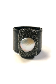 Lets Accessorize Mother-Of-Pearl Snap Bracelet - Product Mini Image