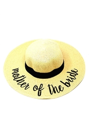 Wona Trading Mother-Of-The-Bride Sun Hat - Front cropped