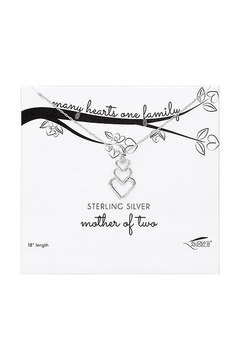 """Shoptiques Product: """"Mother-Of-Two"""" Necklace"""