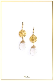 Malia Jewelry Mother Pearl Earrings - Product Mini Image