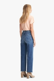 Mother Rambler Ankle Fray Groovin - Side cropped