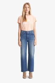 Mother Rambler Ankle Fray Groovin - Front cropped