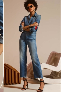 Mother Rambler Ankle Jeans - Product List Image