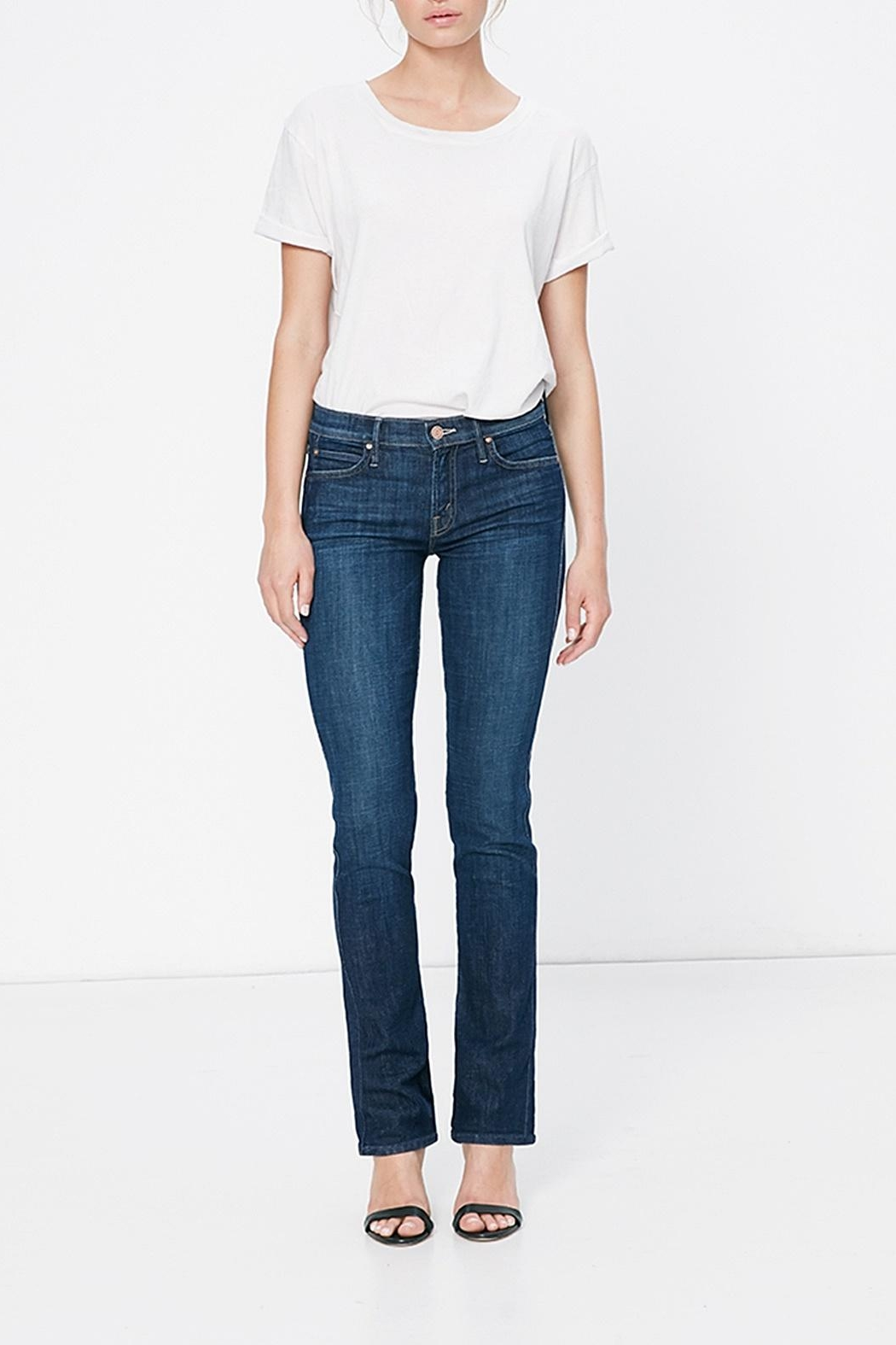 Mother Rascal Straight Jeans - Main Image