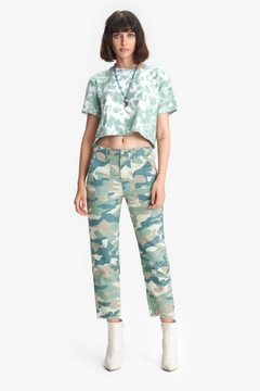 Mother Shaker Crop Camo - Product List Image