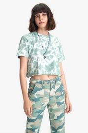 Mother Slouch Cutoff - Front cropped