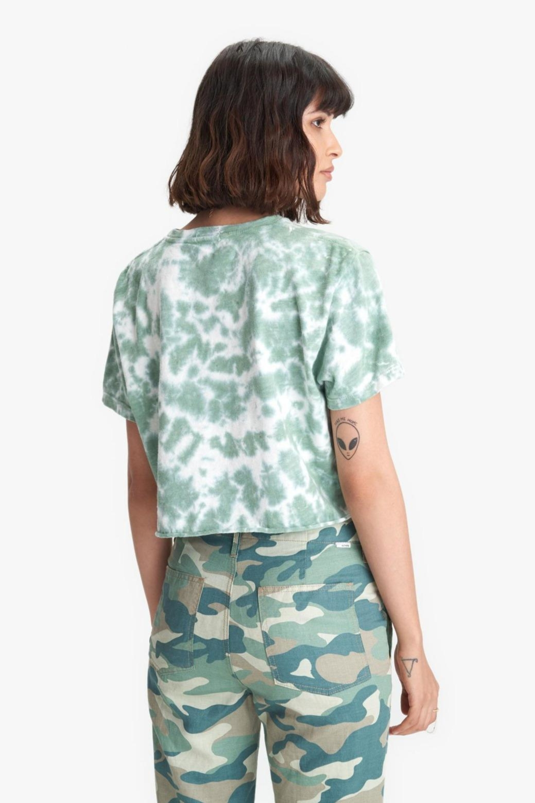 Mother Slouch Cutoff - Front Full Image