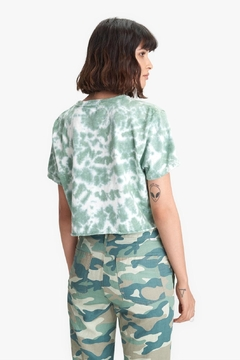 Mother Slouch Cutoff In Olive Drab - Alternate List Image