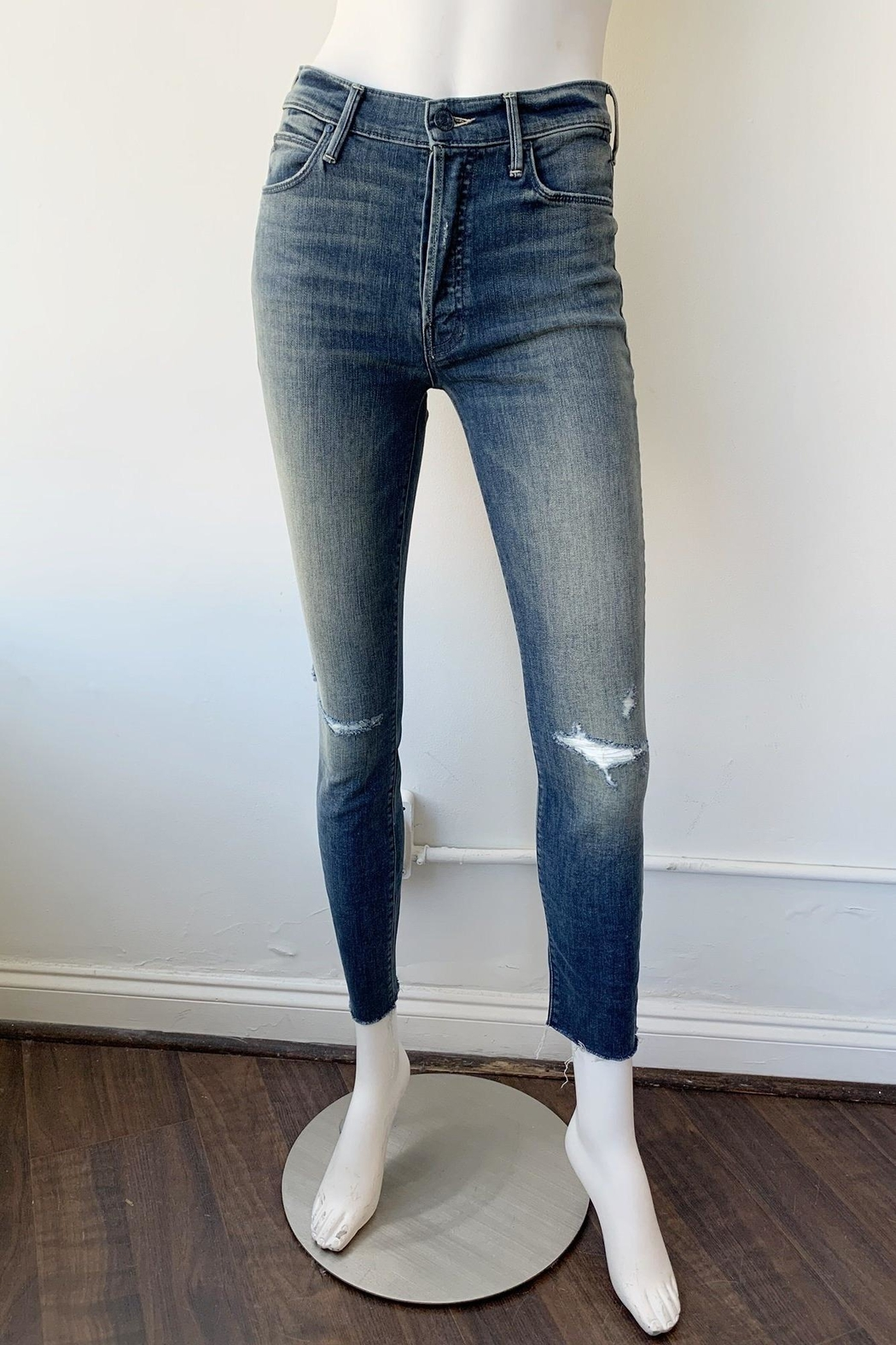 Mother Stunner Fray Jeans - Front Full Image