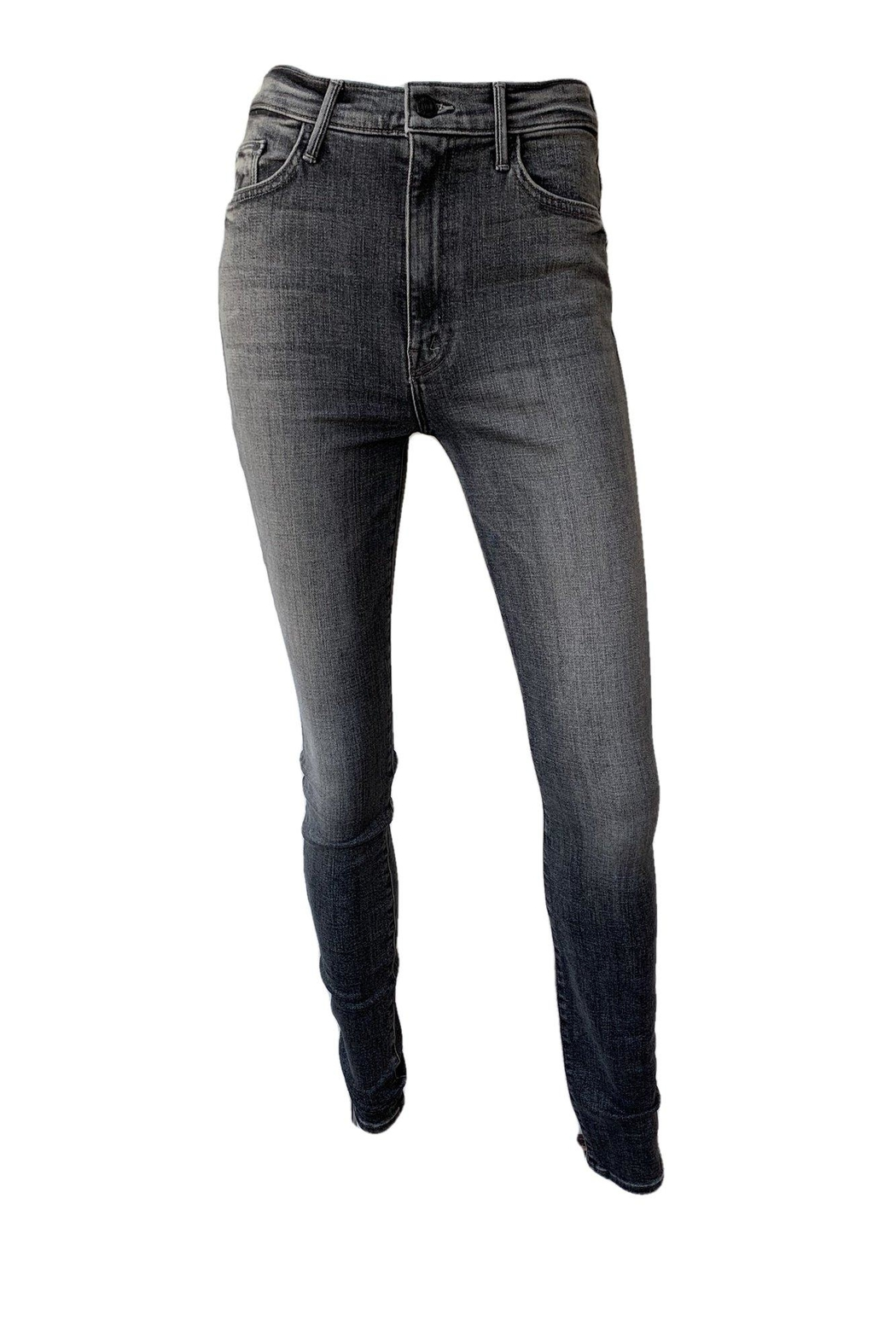 Mother Swooner High Rise Skinny Jeans - Main Image