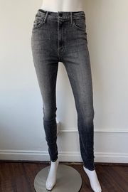 Mother Swooner High Rise Skinny Jeans - Front full body
