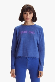 Mother The Hugger Crop Fray Night Owl - Product Mini Image
