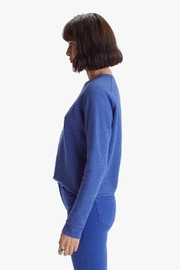 Mother The Hugger Crop Fray Night Owl - Front full body