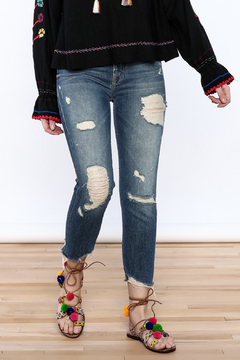 Mother Sinner Distressed Jean - Product List Image