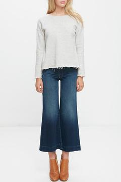 Mother Denim Drop Easy Raw Sweater - Product List Image