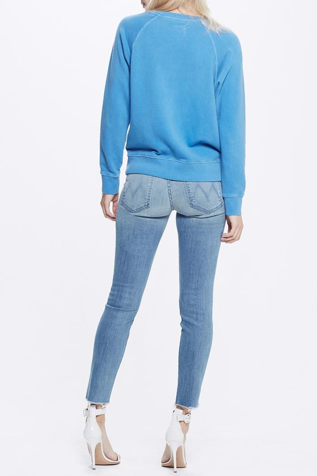Mother Denim Far From Paradise Sweatshirt - Side Cropped Image