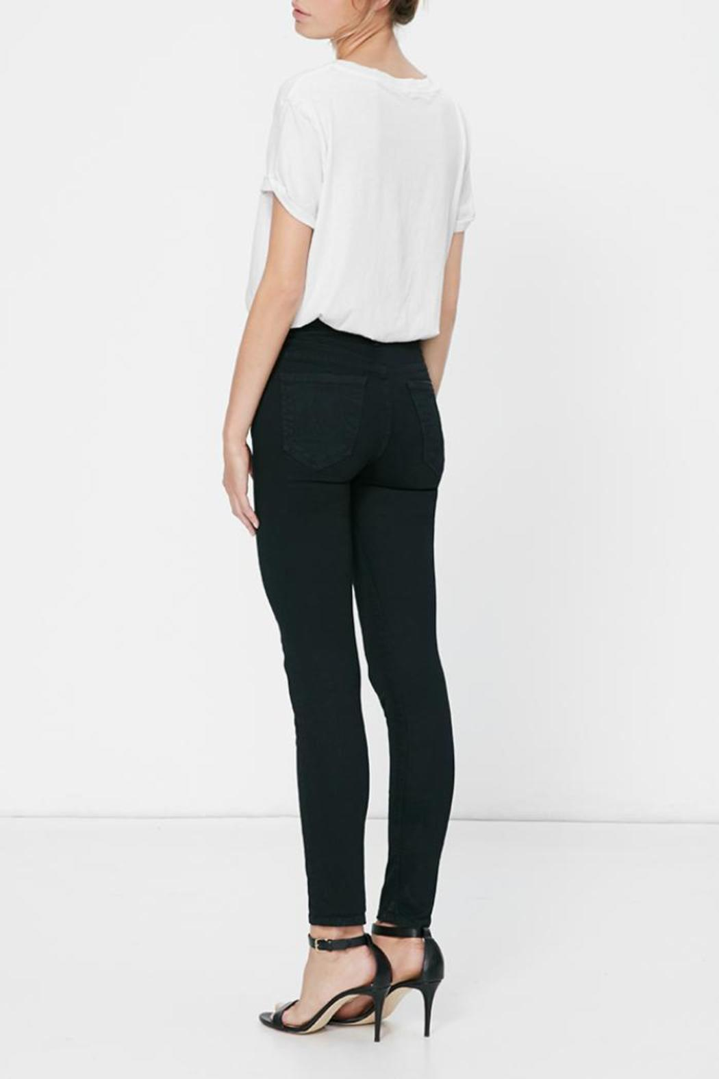 Mother High-Waisted Looker Skinny - Front Full Image