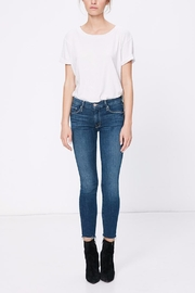 Mother Denim Looker Ankle Fray Jeans - Product Mini Image
