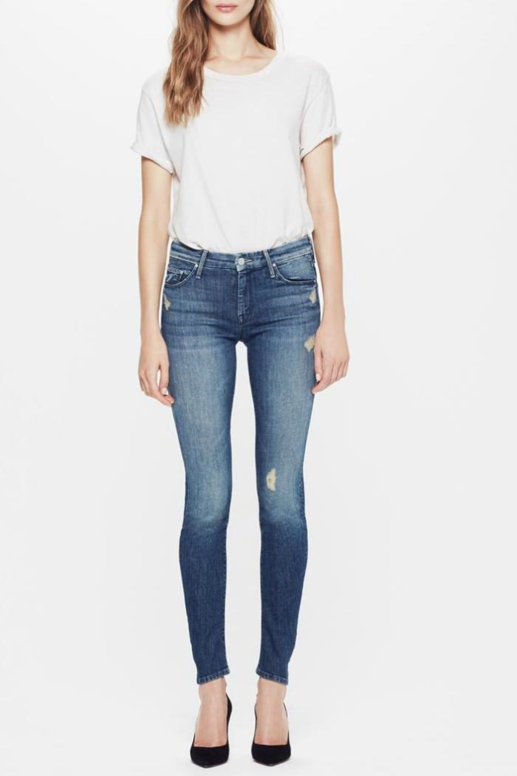 Mother The Looker Skinny Jeans - Main Image