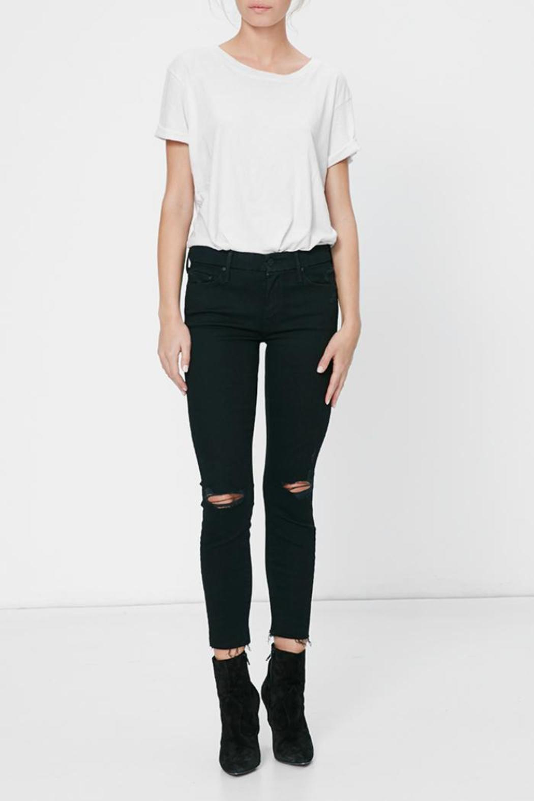 Mother Denim The Looker Skinny Jean - Front Full Image