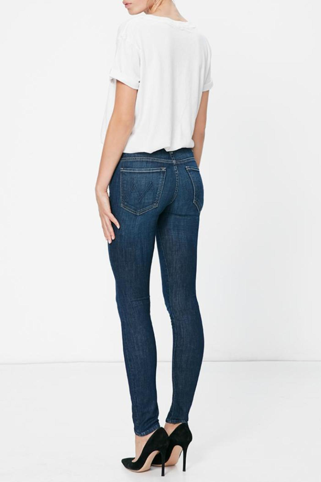 Mother The Looker Skinny Jean - Front Full Image