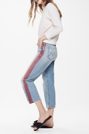 Mother Thrasher High Rise Jeans - Front full body