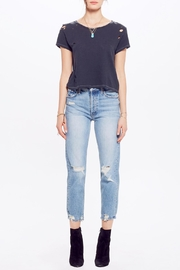 Mother Tomcat Relaxed Crops - Front cropped
