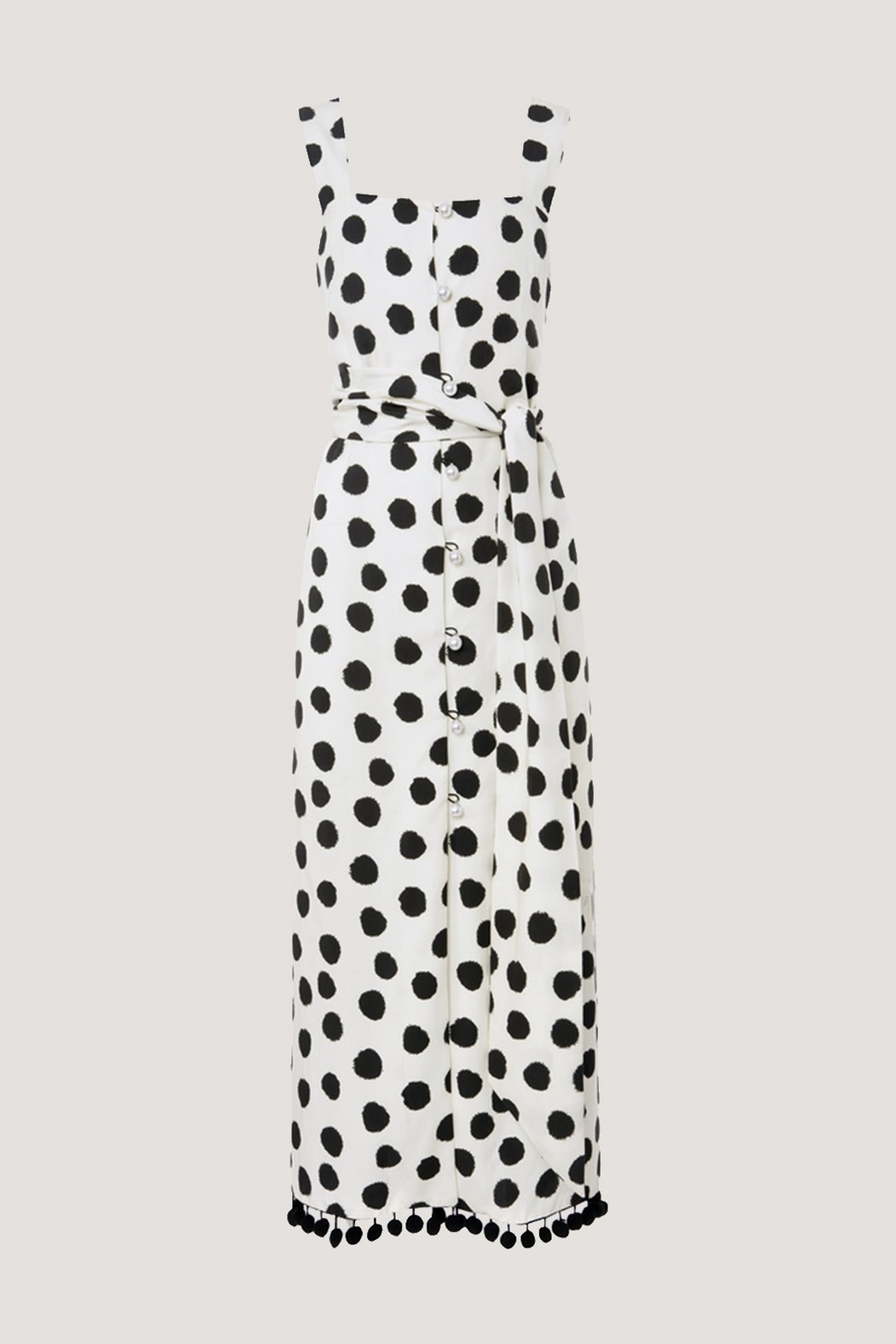 Mother of Pearl Jane Dress - Side Cropped Image