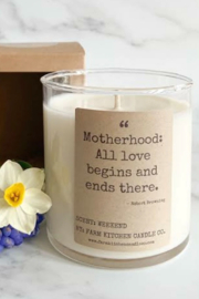 Farm Kitchen Candle Co. Motherhood Candle - Front cropped