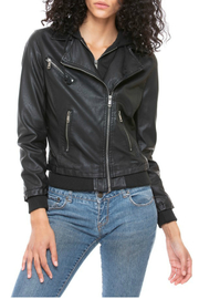 Coalition LA Moto black jacket - Product Mini Image