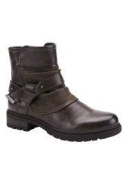 Spring Footwear Moto Bootie - Front cropped