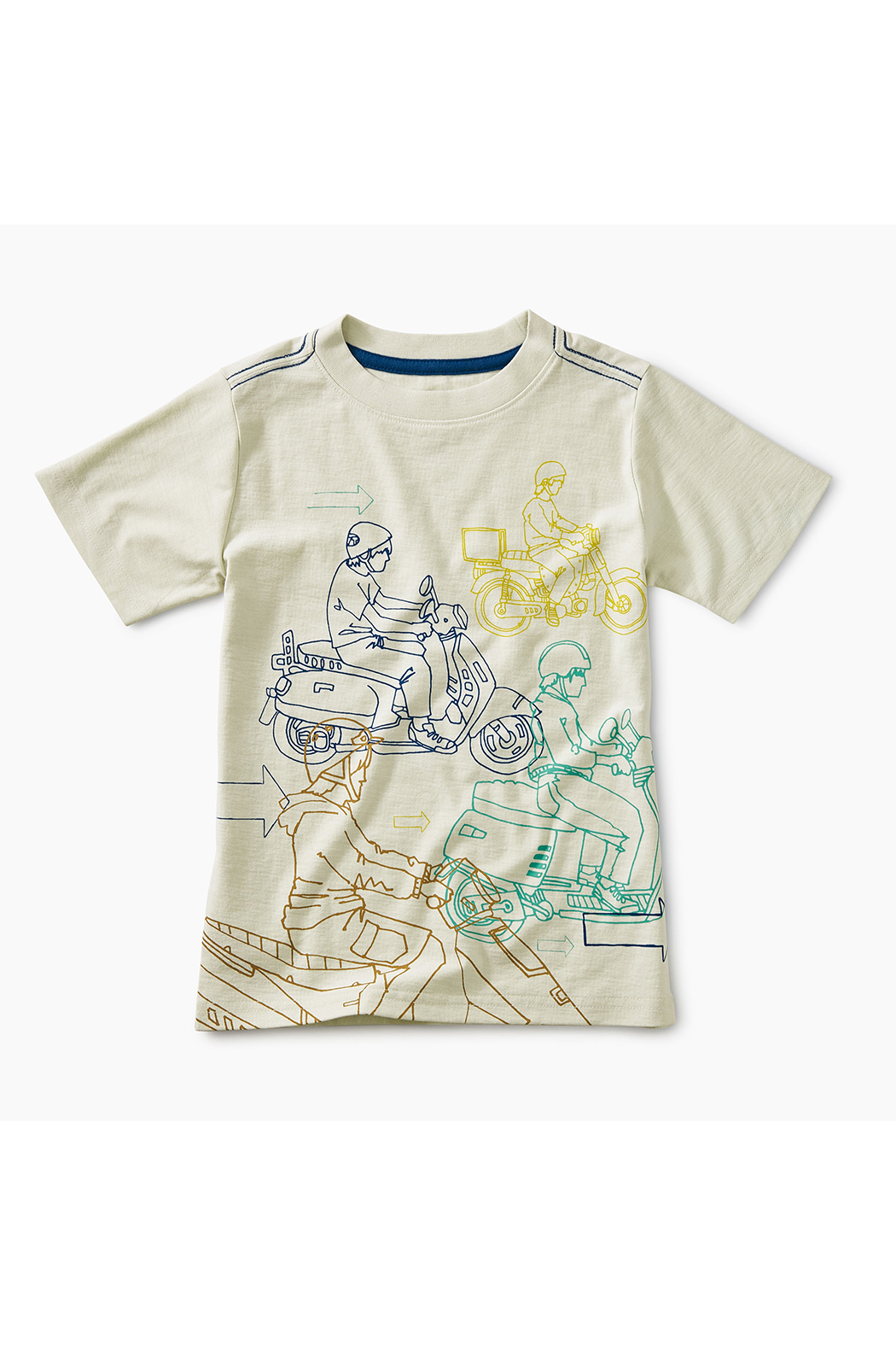 Tea Collection Moto Graphic Tee - Main Image