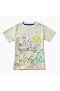 Tea Collection Moto Graphic Tee - Product List Image