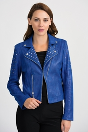 Joseph Ribkoff Moto Jacket - Product Mini Image