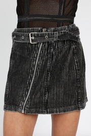 Honey Punch Moto Mini Skirt - Product Mini Image