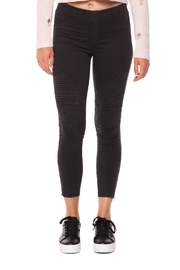 Dex Moto Mix Leggings - Product Mini Image