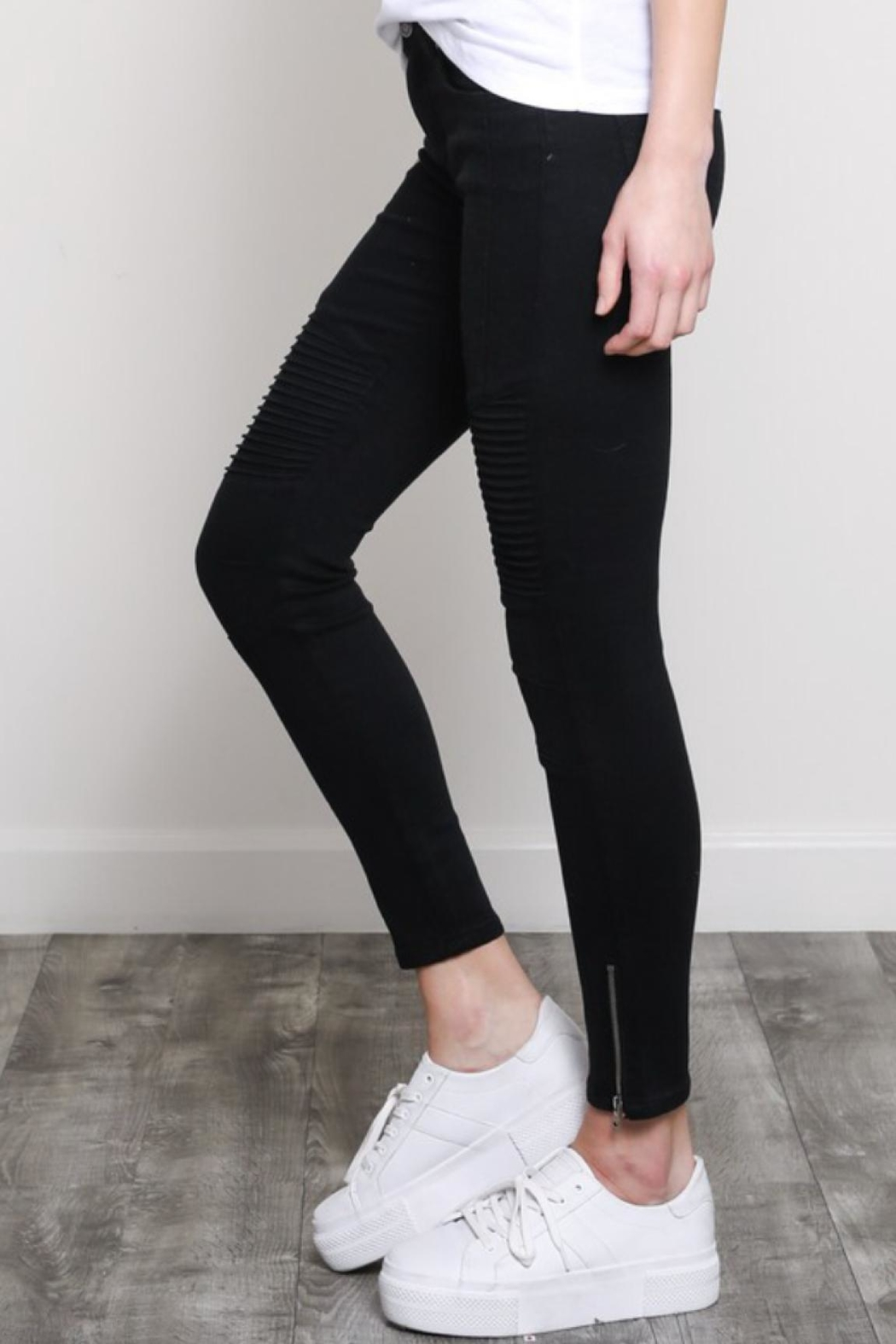 Wishlist Moto Skinnies Black - Front Full Image