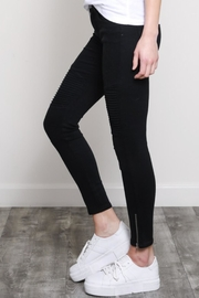 Wishlist Moto Skinnies Black - Front full body